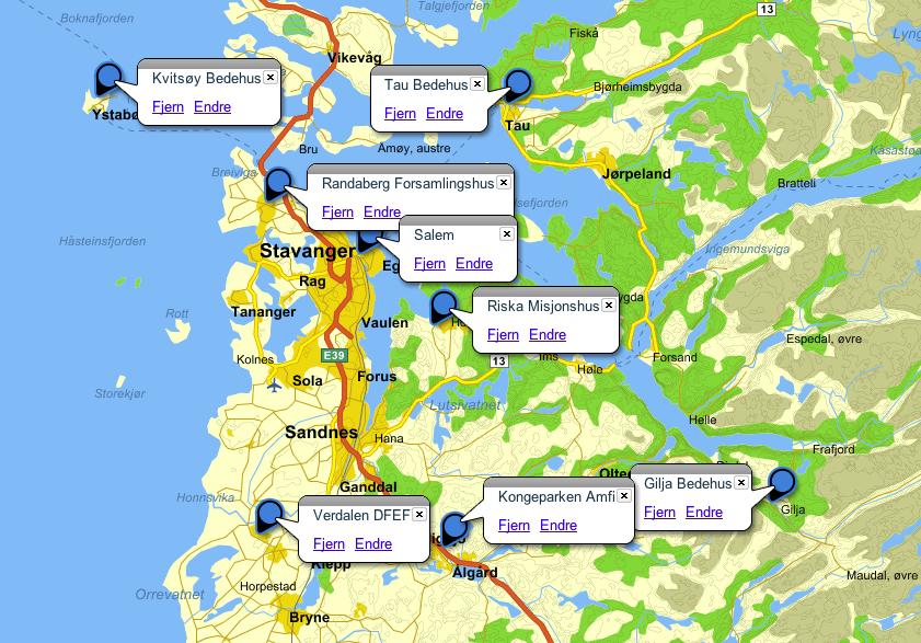 kongeparken kart Kart   Evangeliske Sanger i Sør bevarer den evangeliske  kongeparken kart