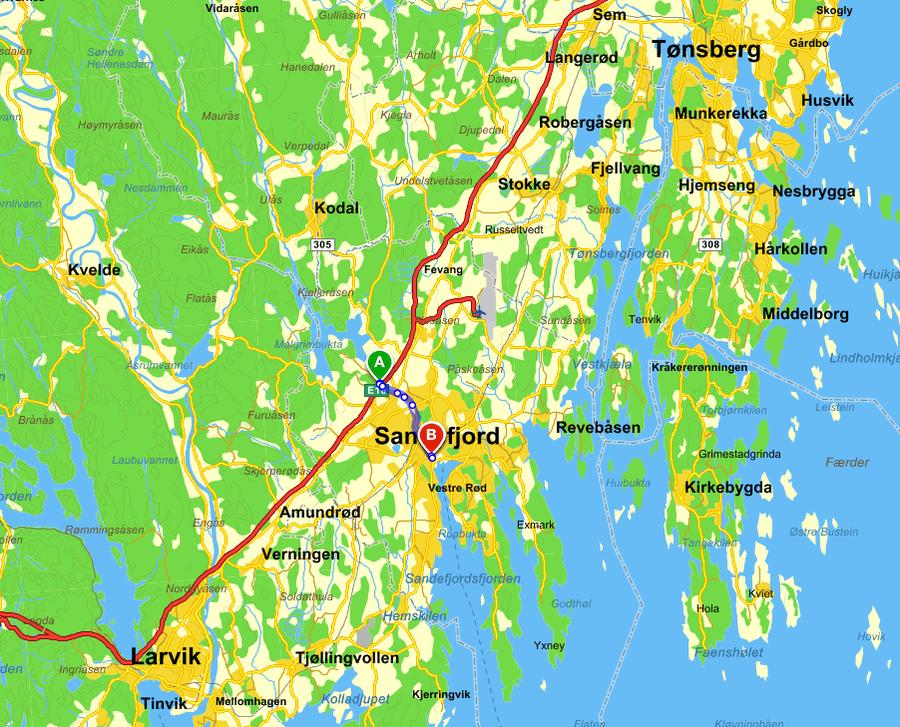 kart sandefjord Kart   Evangeliske Sanger i Sør bevarer den evangeliske  kart sandefjord